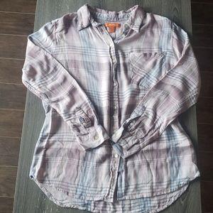 NEVER WORN - Women's Plaid Flannel | L